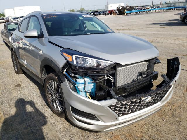 Salvage cars for sale from Copart Tulsa, OK: 2021 Hyundai Tucson Limited