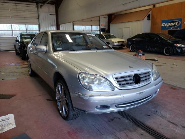 Salvage cars for sale from Copart Angola, NY: 2002 Mercedes-Benz S 430
