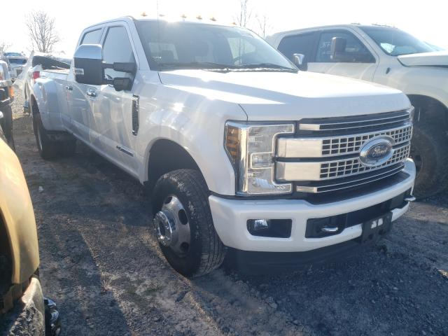 Salvage cars for sale from Copart Ontario Auction, ON: 2017 Ford F350 Super
