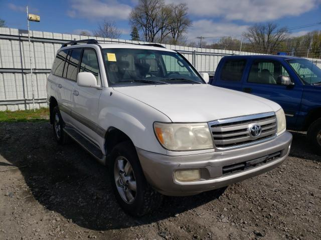 Salvage cars for sale from Copart Albany, NY: 2006 Toyota Land Cruiser