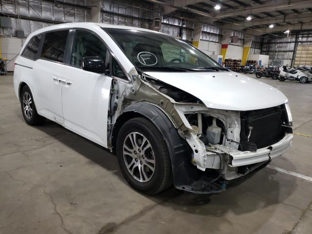 Salvage cars for sale from Copart Woodburn, OR: 2011 Honda Odyssey EX