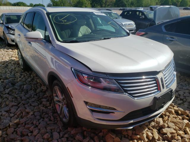 Salvage cars for sale from Copart China Grove, NC: 2017 Lincoln MKC Reserv