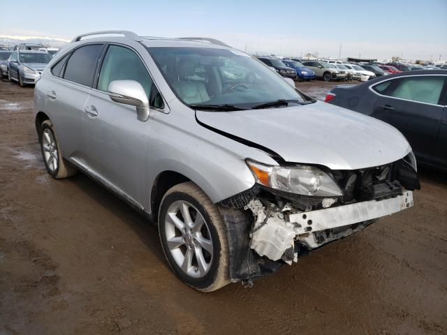Salvage cars for sale from Copart Brighton, CO: 2010 Lexus RX 350