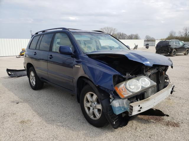 Salvage cars for sale from Copart Milwaukee, WI: 2001 Toyota Highlander