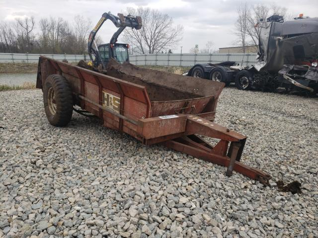 Salvage cars for sale from Copart Appleton, WI: 1980 Manu Spreader