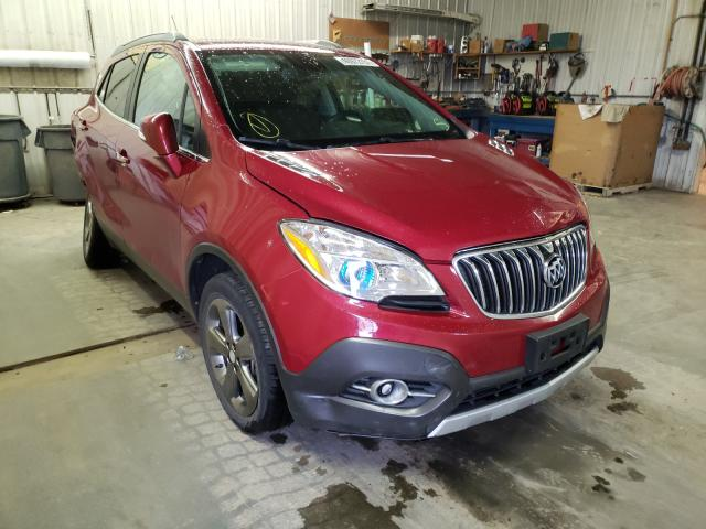 Salvage cars for sale from Copart Avon, MN: 2014 Buick Encore CON