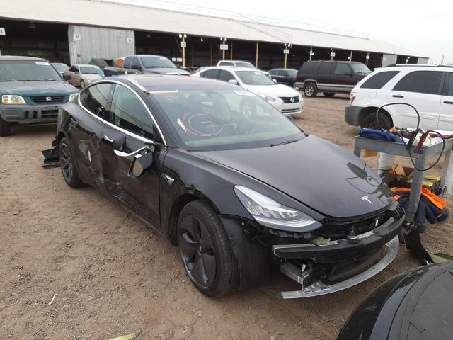 Salvage cars for sale from Copart Phoenix, AZ: 2018 Tesla Model 3