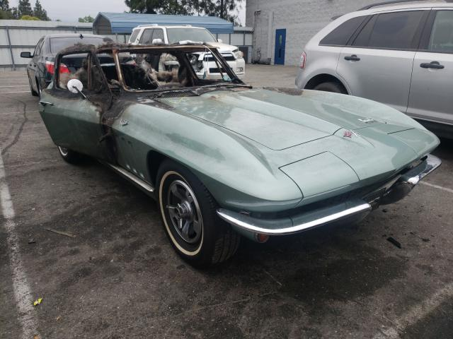 Salvage cars for sale from Copart Rancho Cucamonga, CA: 1966 Chevrolet Corvette