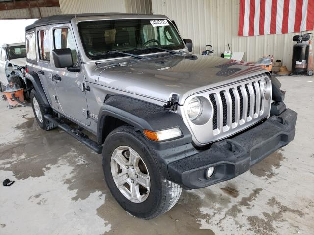 Salvage cars for sale from Copart Homestead, FL: 2018 Jeep Wrangler U