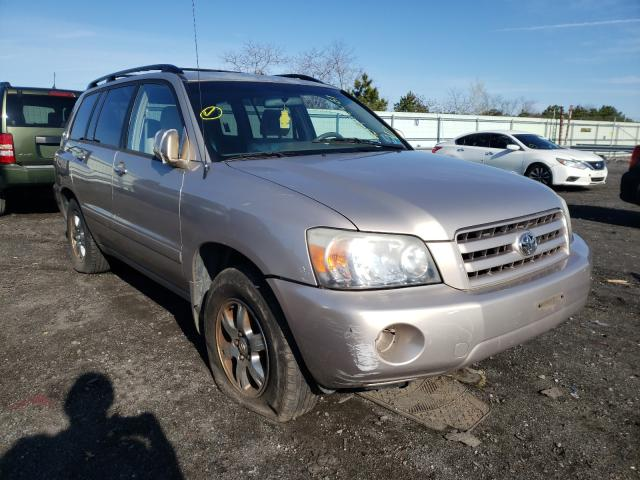 Salvage cars for sale from Copart Brookhaven, NY: 2005 Toyota Highlander