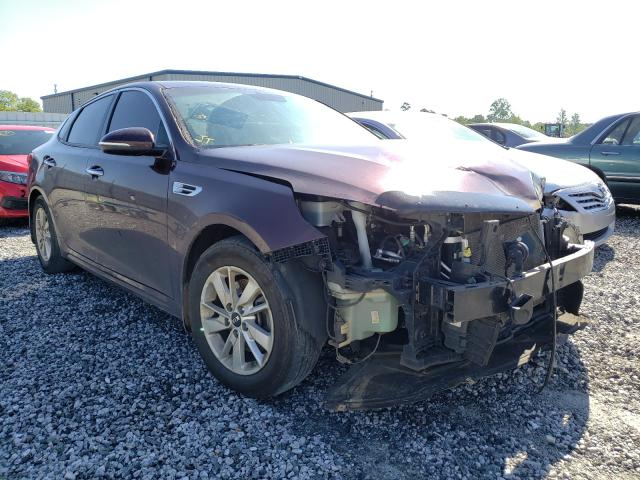 Salvage cars for sale from Copart Spartanburg, SC: 2016 KIA Optima LX
