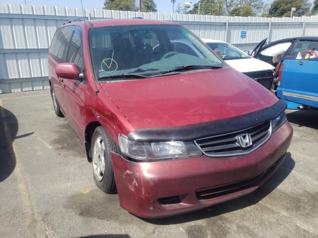 Salvage cars for sale from Copart Vallejo, CA: 2003 Honda Odyssey EX