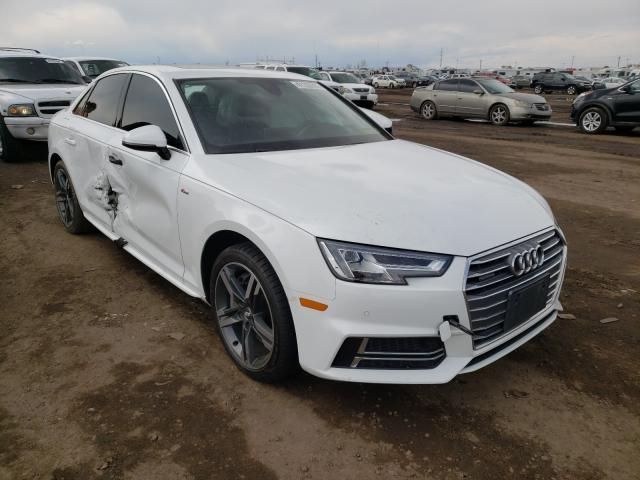 Salvage cars for sale from Copart Brighton, CO: 2017 Audi A4 Premium