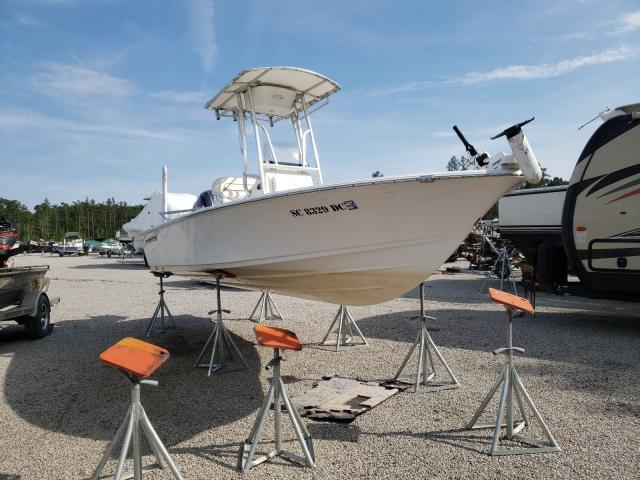 Salvage boats for sale at Harleyville, SC auction: 2016 Sptc Boat