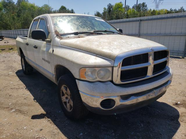 Salvage cars for sale from Copart Charles City, VA: 2004 Dodge RAM 1500 S