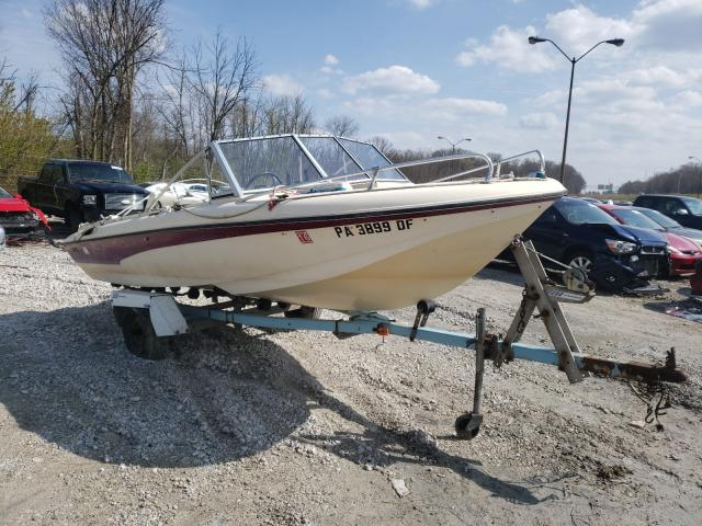 Salvage boats for sale at Northfield, OH auction: 1997 Other Gypsy 16S