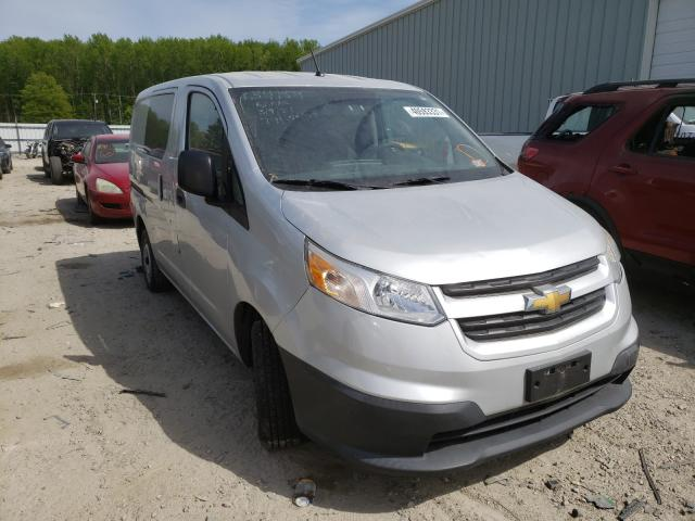 Salvage cars for sale from Copart Hampton, VA: 2015 Chevrolet City Expre
