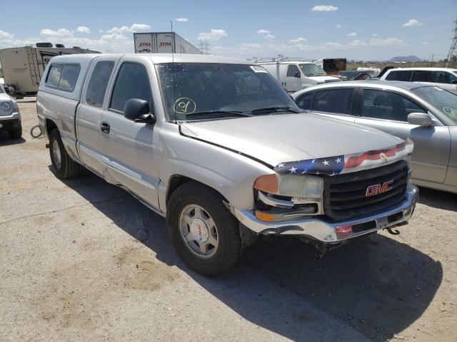 Salvage cars for sale from Copart Tucson, AZ: 2004 GMC New Sierra