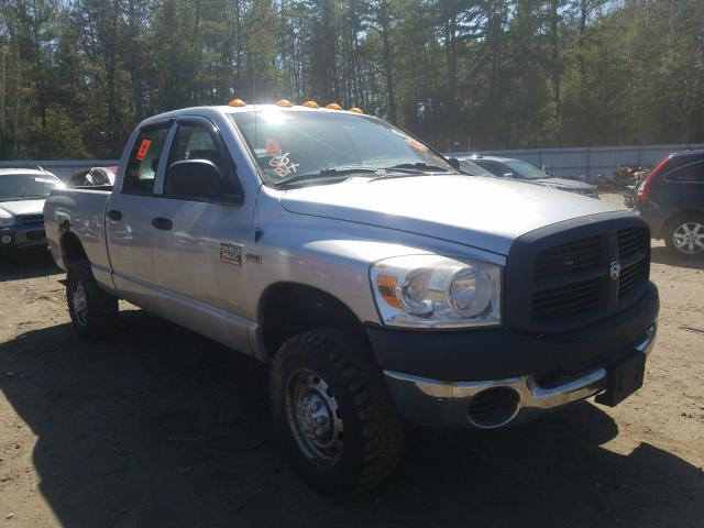 Salvage cars for sale from Copart Lyman, ME: 2007 Dodge RAM 2500 S