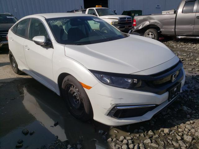 Salvage cars for sale from Copart Windsor, NJ: 2020 Honda Civic LX