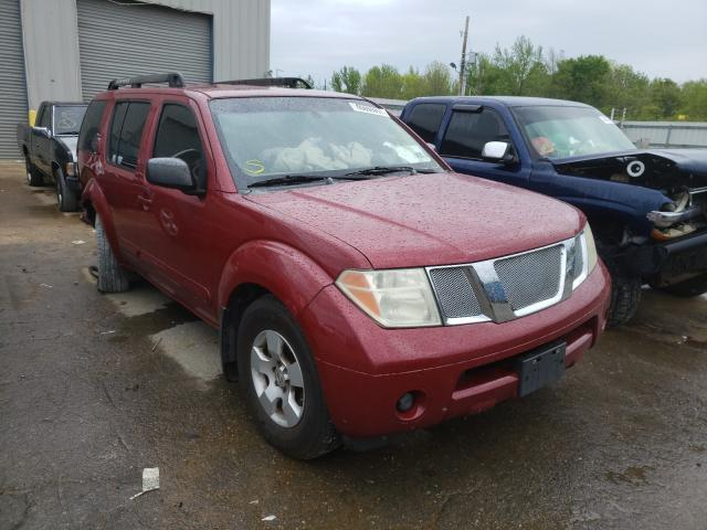 Salvage cars for sale at Memphis, TN auction: 2007 Nissan Pathfinder