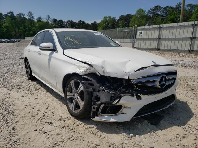 Salvage cars for sale from Copart Ellenwood, GA: 2017 Mercedes-Benz E 300 4matic