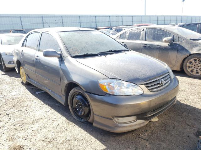 Salvage cars for sale from Copart Albuquerque, NM: 2003 Toyota Corolla CE