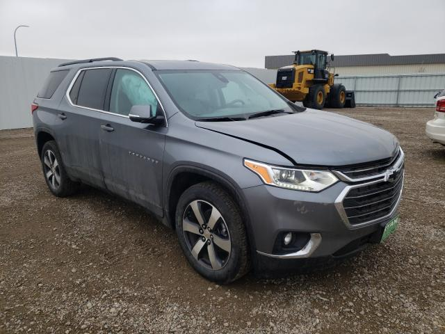 Chevrolet Traverse salvage cars for sale: 2021 Chevrolet Traverse