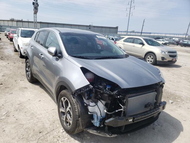 KIA Vehiculos salvage en venta: 2021 KIA Sportage L