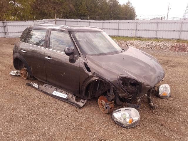 Salvage cars for sale from Copart London, ON: 2011 Mini Cooper COU