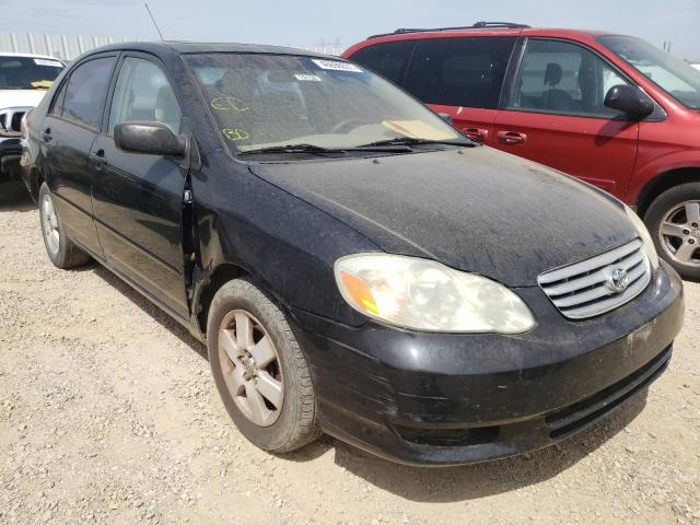 Salvage cars for sale from Copart Anderson, CA: 2003 Toyota Corolla CE