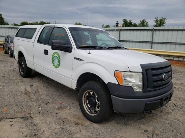 Salvage cars for sale from Copart Chatham, VA: 2010 Ford F150 Super
