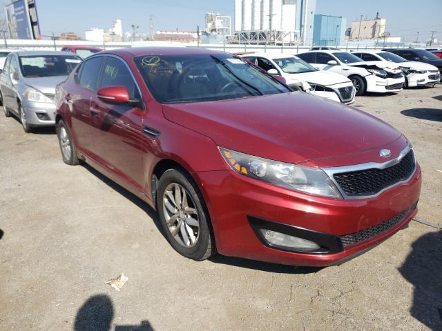 KIA Vehiculos salvage en venta: 2013 KIA Optima LX
