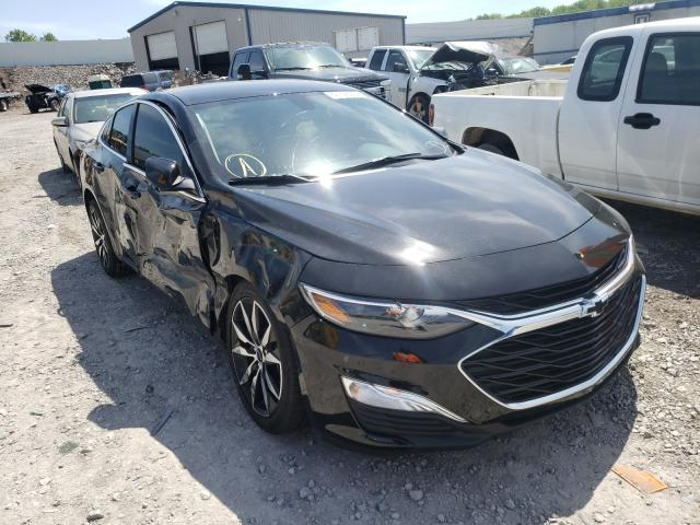 Salvage cars for sale from Copart Hueytown, AL: 2021 Chevrolet Malibu RS