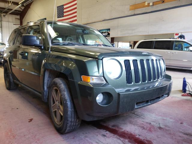 Salvage cars for sale from Copart Angola, NY: 2007 Jeep Patriot SP