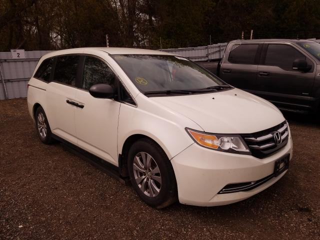 Salvage cars for sale from Copart London, ON: 2014 Honda Odyssey SE