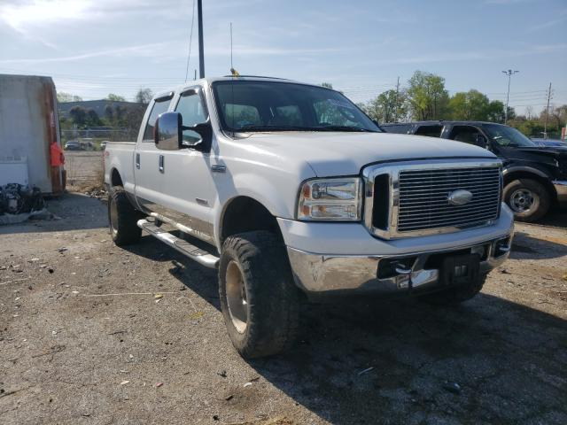 Salvage 2007 FORD F250 - Small image. Lot 41036251