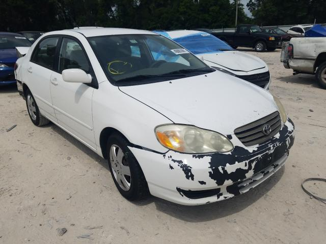 Salvage cars for sale from Copart Ocala, FL: 2004 Toyota Corolla CE