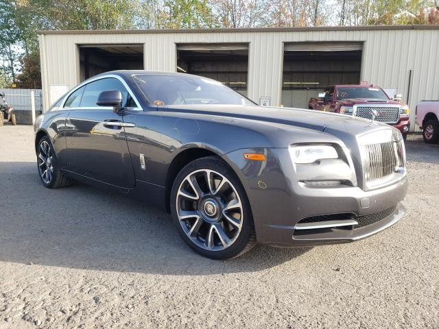 Rolls-Royce salvage cars for sale: 2018 Rolls-Royce Wraith