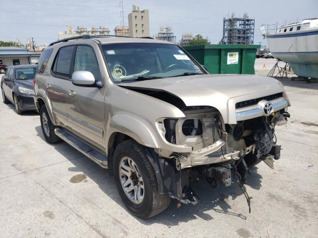 Salvage cars for sale from Copart New Orleans, LA: 2006 Toyota Sequoia SR