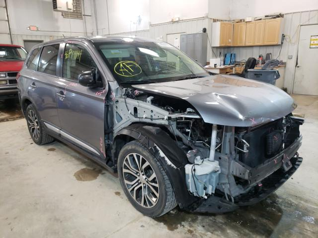 Salvage cars for sale from Copart Columbia, MO: 2016 Mitsubishi Outlander