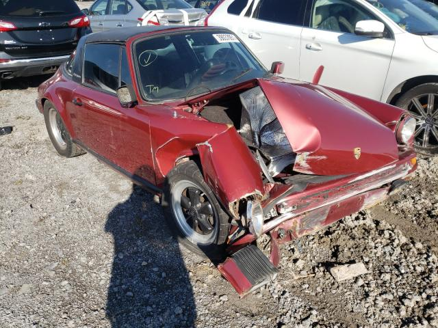 Porsche 911 salvage cars for sale: 1981 Porsche 911