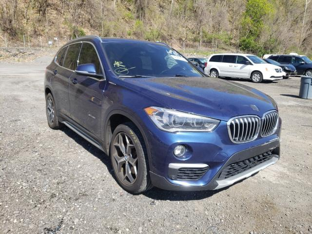 Salvage cars for sale from Copart Marlboro, NY: 2017 BMW X1 XDRIVE2