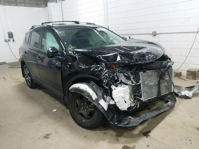 Salvage cars for sale from Copart Blaine, MN: 2016 Toyota Rav4 LE