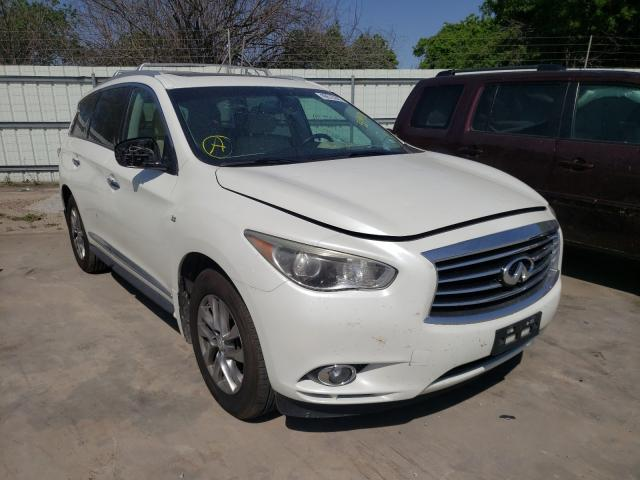 Salvage cars for sale from Copart Corpus Christi, TX: 2015 Infiniti QX60
