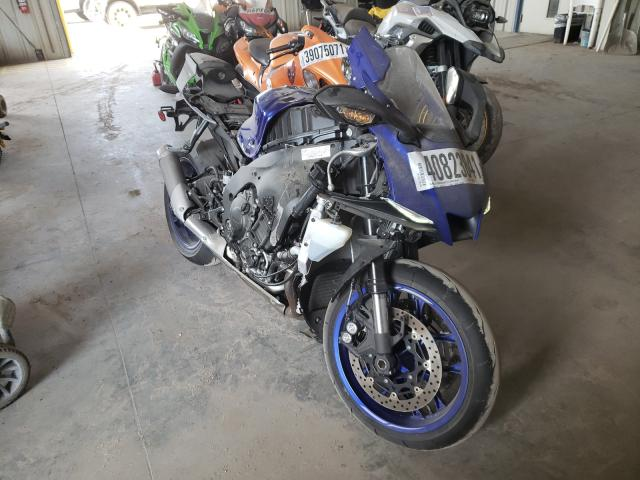 Salvage cars for sale from Copart Riverview, FL: 2020 Yamaha YZFR1