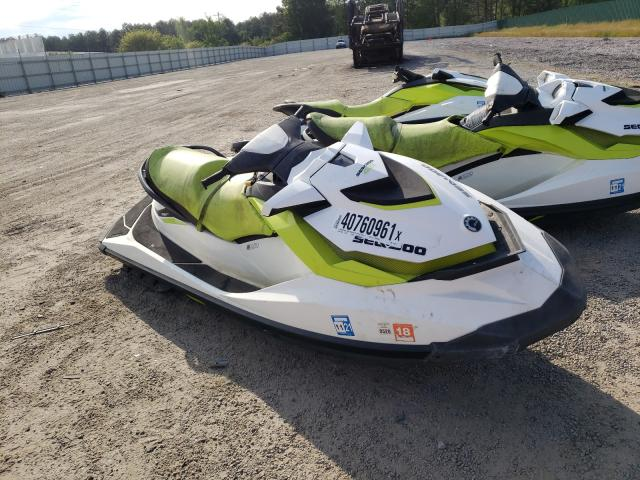 Salvage boats for sale at Harleyville, SC auction: 2017 Seadoo GTI 130