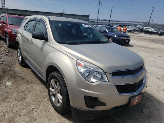 Salvage cars for sale from Copart Columbus, OH: 2012 Chevrolet Equinox LS