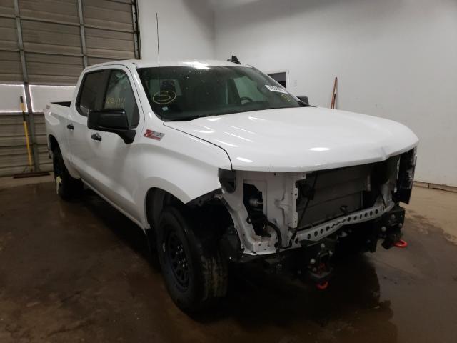 Salvage cars for sale from Copart Davison, MI: 2020 Chevrolet Silverado