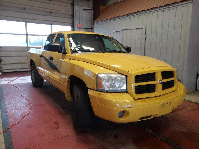 Salvage cars for sale from Copart Angola, NY: 2006 Dodge Dakota Quattro
